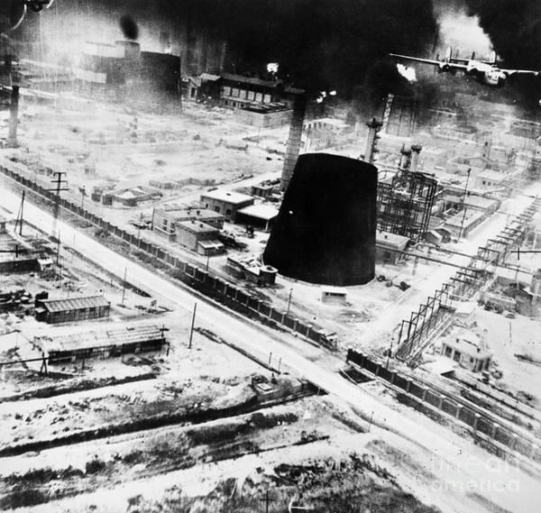 Photograph - World War II: Ploesti, 1944 by Granger