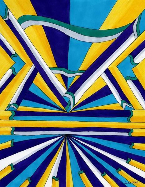 Drawing - World's Fair by Lesa Weller