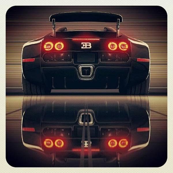 Super Sport Wall Art - Photograph - World's Fastest Car 267 Mph #bugatti by K H   U   R   A   M