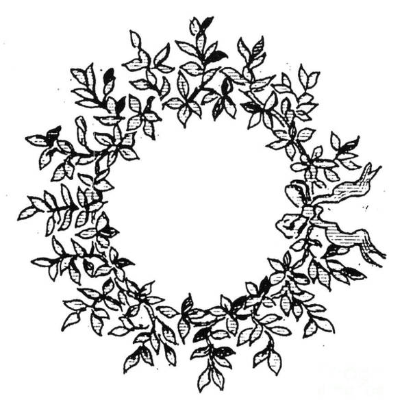 Photograph - Wreath by Granger
