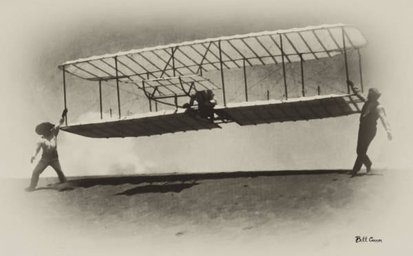 Photograph - Wright Brothers by Bill Cannon
