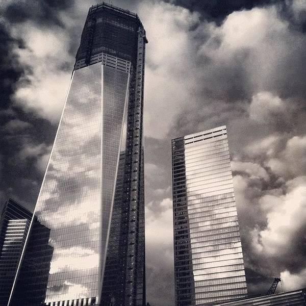 Skyscraper Photograph - Wtc - New York by Joel Lopez