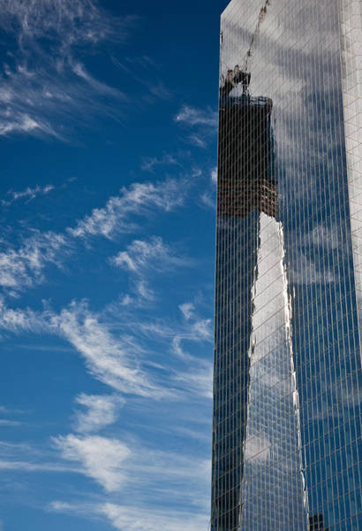 Wall Art - Photograph - Wtc Reflections by Patrick  Flynn