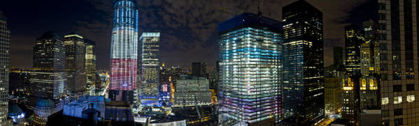 Photograph - Wtc Site Panorama 1 by Val Black Russian Tourchin