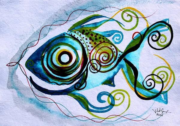 Wtfish 006 Art Print