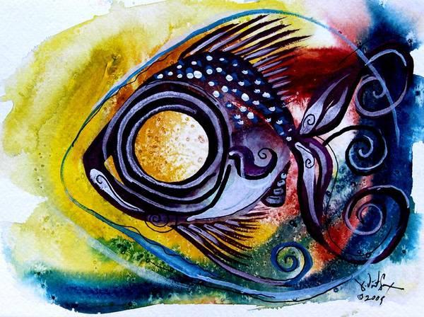 Wtfish 3816 Art Print