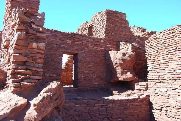 Photograph - Wupatki Ruins by Cheryl Fecht