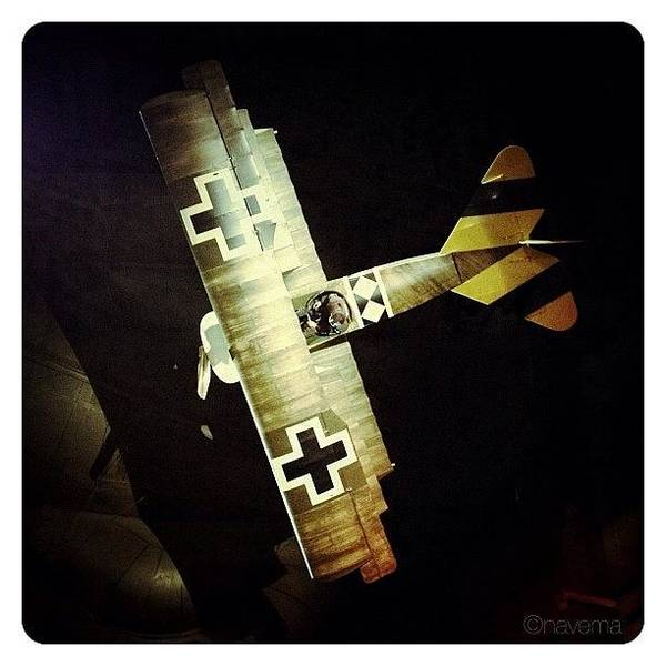 Military Photograph - Ww1 Curtiss Jn-4d Jenny by Natasha Marco