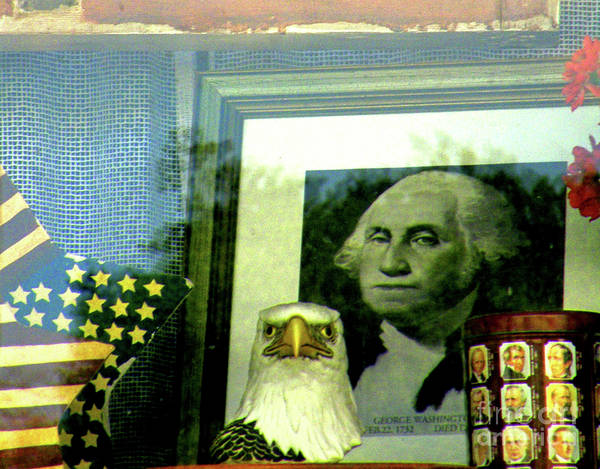 Declaration Of Independence Photograph - Wwgd - What Would George Do by Joe Pratt