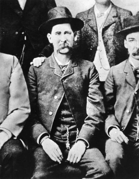 Photograph - Wyatt Earp (1848-1929) by Granger