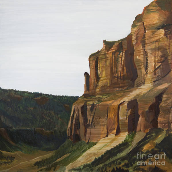 Painting - Wyoming Cliffs by Richard Fritz