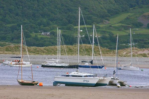 Barmouth Photograph - Yacht Harbour by Ed Lukas