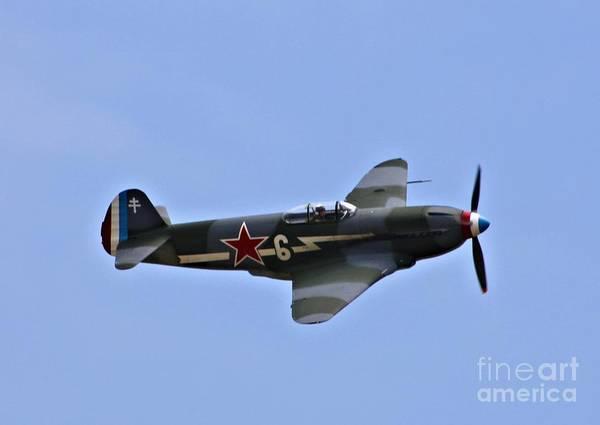 Yakovlev Photograph - Yakovlev Yak 3 by Tommy Anderson