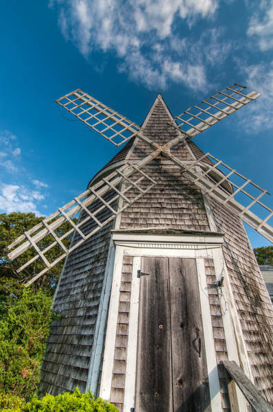 Yarmouth Photograph - Yarmouth Windmill by Linda Pulvermacher