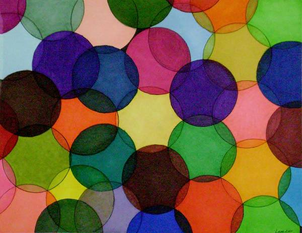 Painting - Yarn IIi by Lesa Weller
