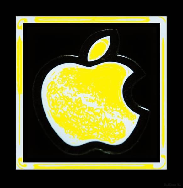 The Mac Wall Art - Photograph - Yellow Apple by Rob Hans