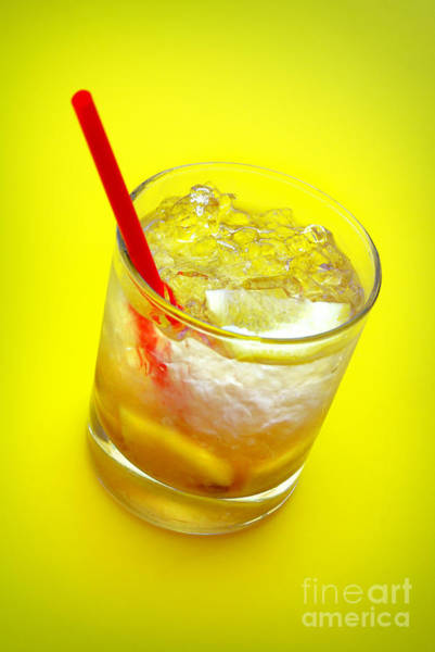 Wall Art - Photograph - Yellow Caipirinha by Carlos Caetano