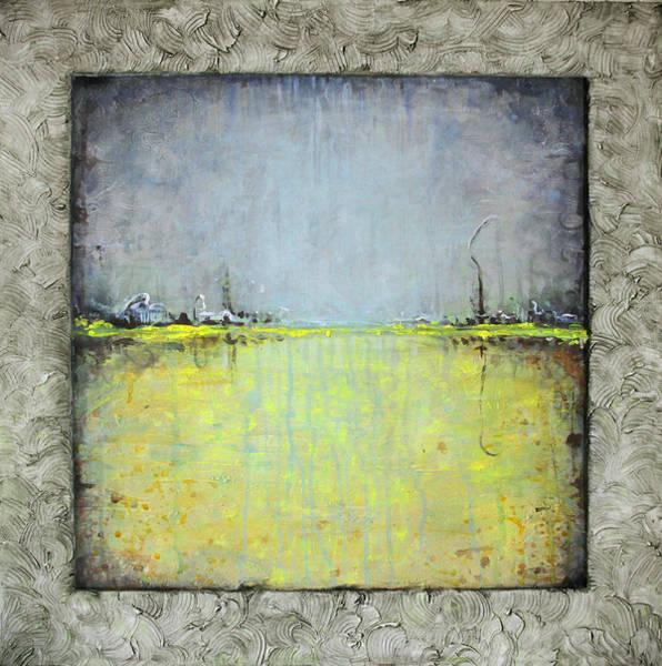 Wall Art - Painting - Yellow Field by Lolita Bronzini