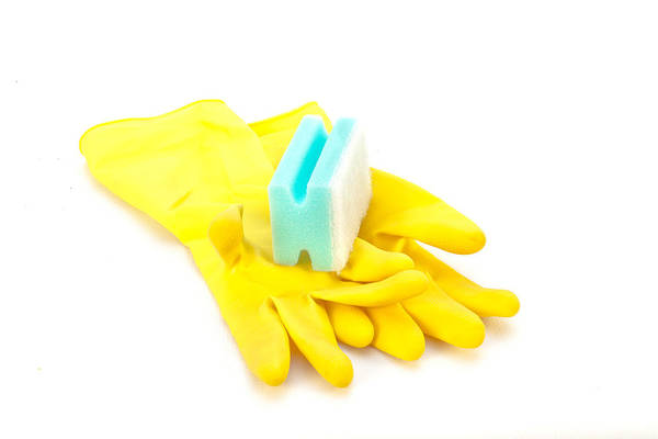 Synthetic Photograph - Yellow Gloves by Tom Gowanlock