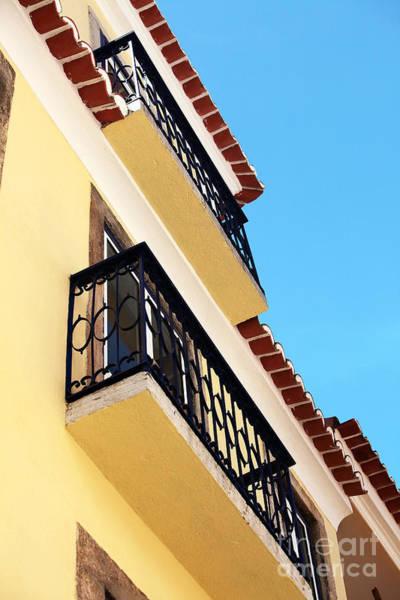Wall Art - Photograph - Yellow House In Alfama by John Rizzuto