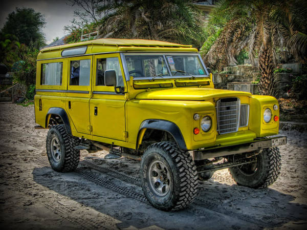 Photograph - Yellow Jeep by Adrian Evans