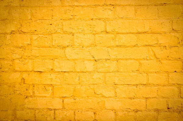Mellow Photograph - Yellow Wall by Tom Gowanlock
