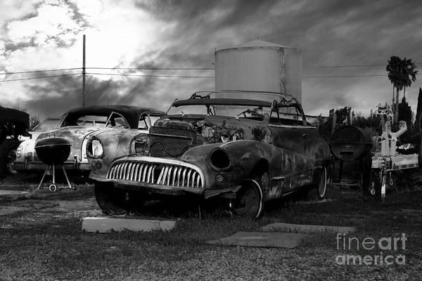 Photograph - Yesterday Came Early . Tomorrow Is Almost Over 2 . Black And White by Wingsdomain Art and Photography