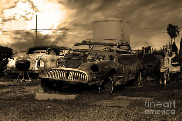 Photograph - Yesterday Came Early . Tomorrow Is Almost Over 2 . Sepia by Wingsdomain Art and Photography