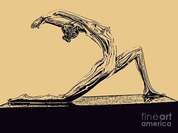 Yoga Number One Art Print