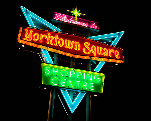 Shopping Photograph - Yorktown Square by Cale Best