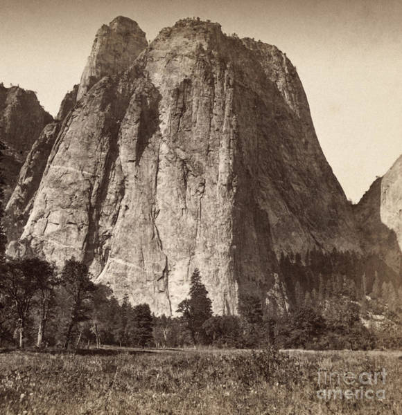 Photograph - Yosemite: Cathedral Rock by Granger