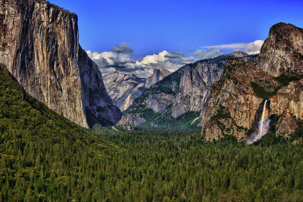 Photograph - Yosemite Valley by Beth Sargent
