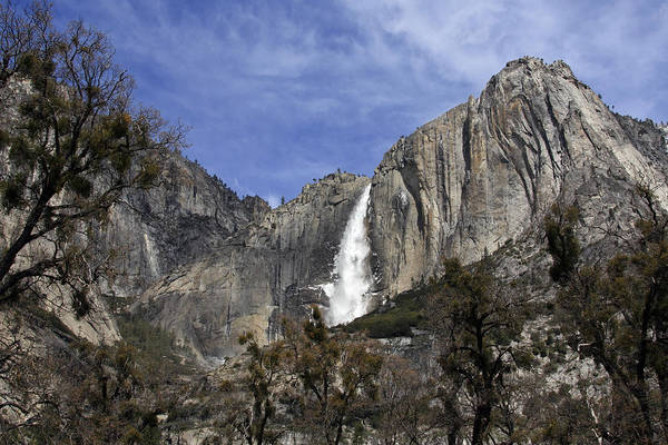 Photograph - Yosemite Water Fall by Wes and Dotty Weber