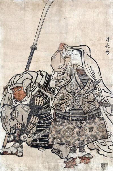 Photograph - Yoshitsune & Benkei by Granger