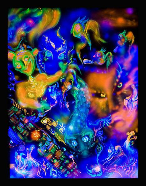 Blacklight Painting - You Choose by Sara Jimenez