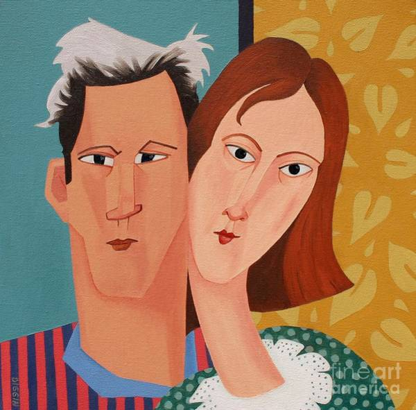 Wall Art - Painting - Young Love by Stephen Diggin