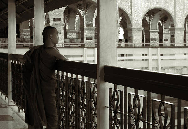 Photograph - Young Monks In Mandalay Hill by RicardMN Photography