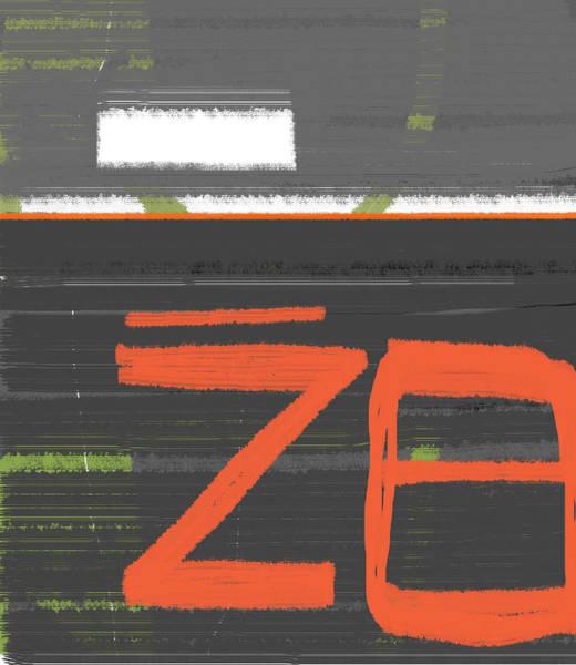 Contemporary Acrylic Painting - Z8 by Naxart Studio