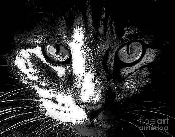 Digital Art - Zack by Dale   Ford