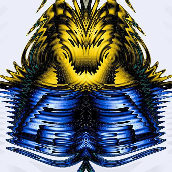Digital Art - Zeon 223 by Theodore Jones