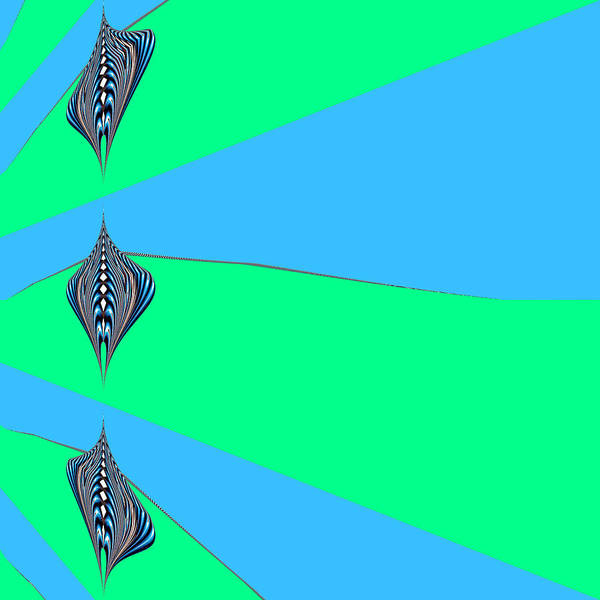 Digital Art - Zeon Unidentified by Theodore Jones