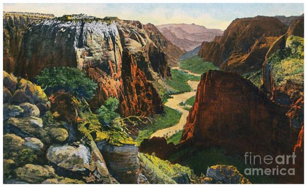 Photograph - Zion National Park by Granger