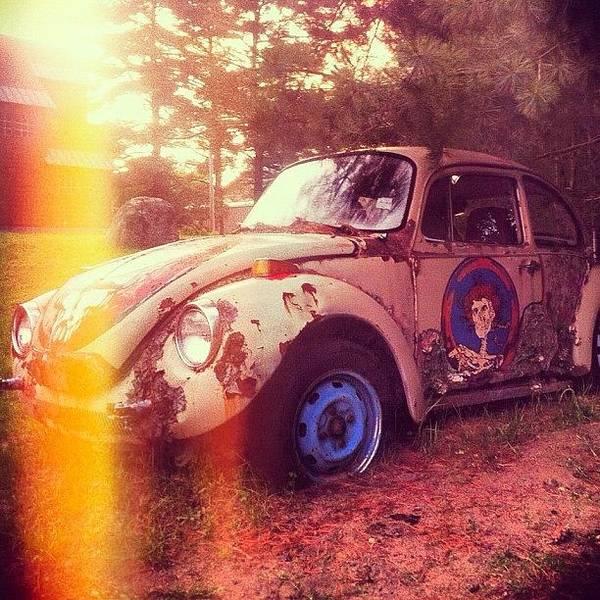 #zombiecar #vw #volkswagen #bug Art Print