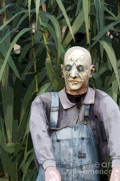 The Undead Photograph - Zombies In The Corn by Christopher Purcell