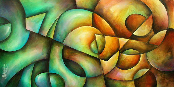 Wall Art - Painting -  ' Contradictions ' by Michael Lang