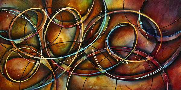Wall Art - Painting -  ' Dizzy ' by Michael Lang