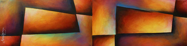 Wall Art - Painting -  ' Edges ' by Michael Lang