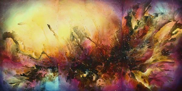 Wall Art - Painting -  ' Visions ' by Michael Lang