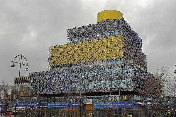 Photograph -  Birmingham Library by Tony Murtagh