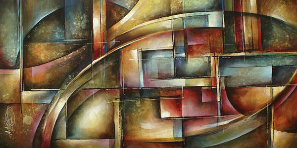 Wall Art - Painting -  ' Blind Space' by Michael Lang